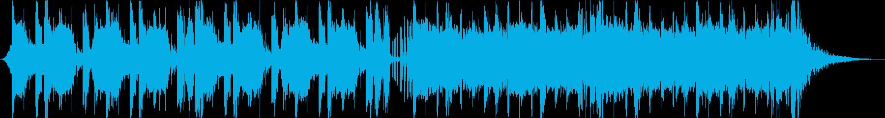 eスポーツ大会 EDM 60秒オケのみの再生済みの波形