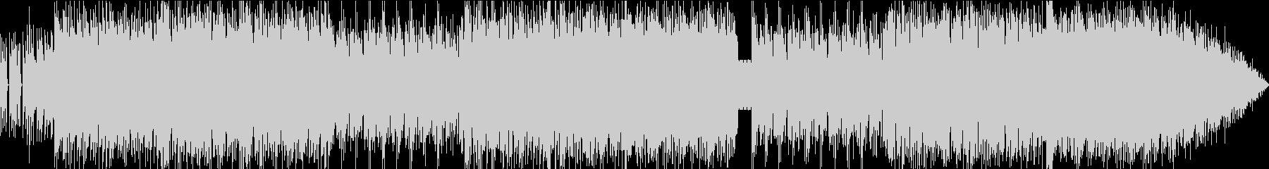 アコースティックなサウンドかつファンキーの未再生の波形