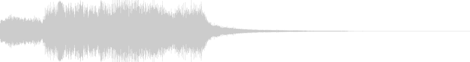 オープニング用サウンドロゴ05の未再生の波形