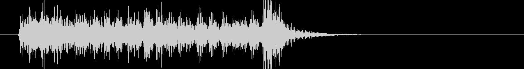 ドルルルルルルトン(ドラムロール)の未再生の波形