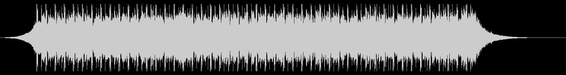 インフォグラフィック(30秒)の未再生の波形