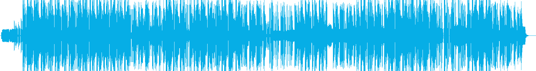 レトロゲームのレクイエム風HIPHOPの再生済みの波形