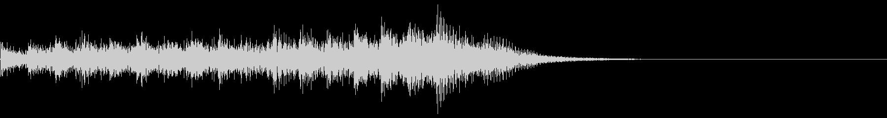 レベルアップ/回復音/チャージ音の未再生の波形