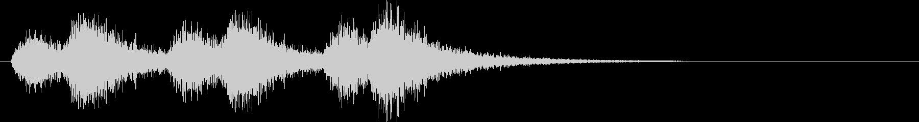 オーケストラでジャジャン ジャジャン3の未再生の波形