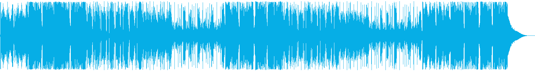 劇伴2、シネマチックHipHop、緊迫Aの再生済みの波形