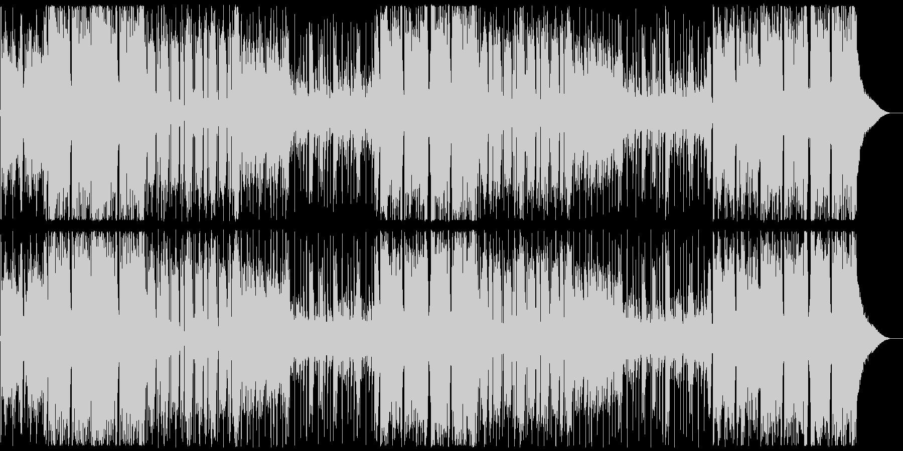 劇伴9A、シネマチックHipHop、緊迫の未再生の波形