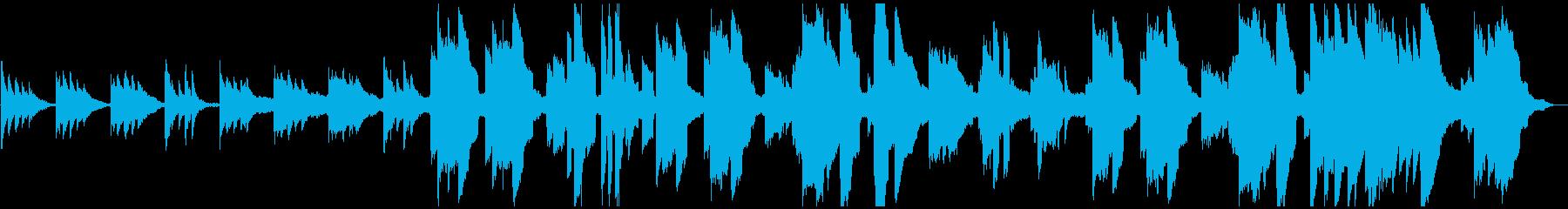 アコギ・エレピが目立つしっとりしたBGMの再生済みの波形