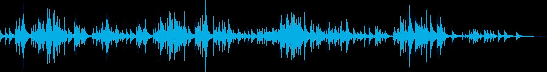 シューマンの人気曲、トロイメライです。の再生済みの波形