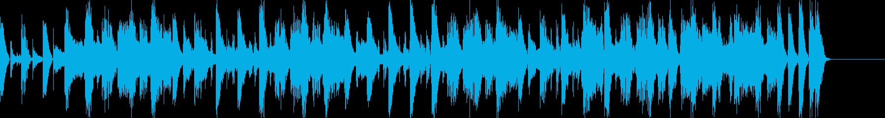 解答をフリップに出すシンキングタイム風の再生済みの波形