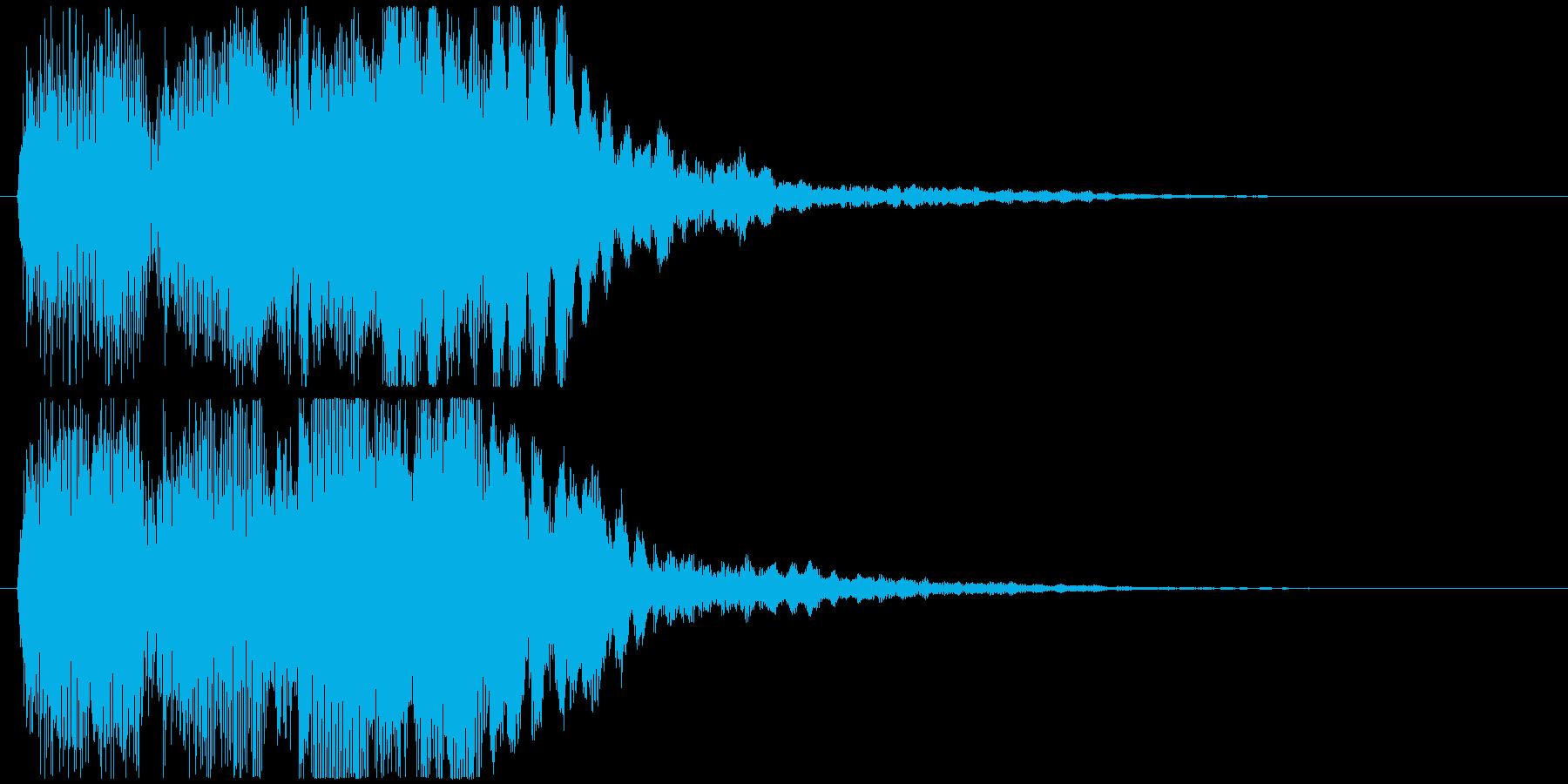むむむむの再生済みの波形