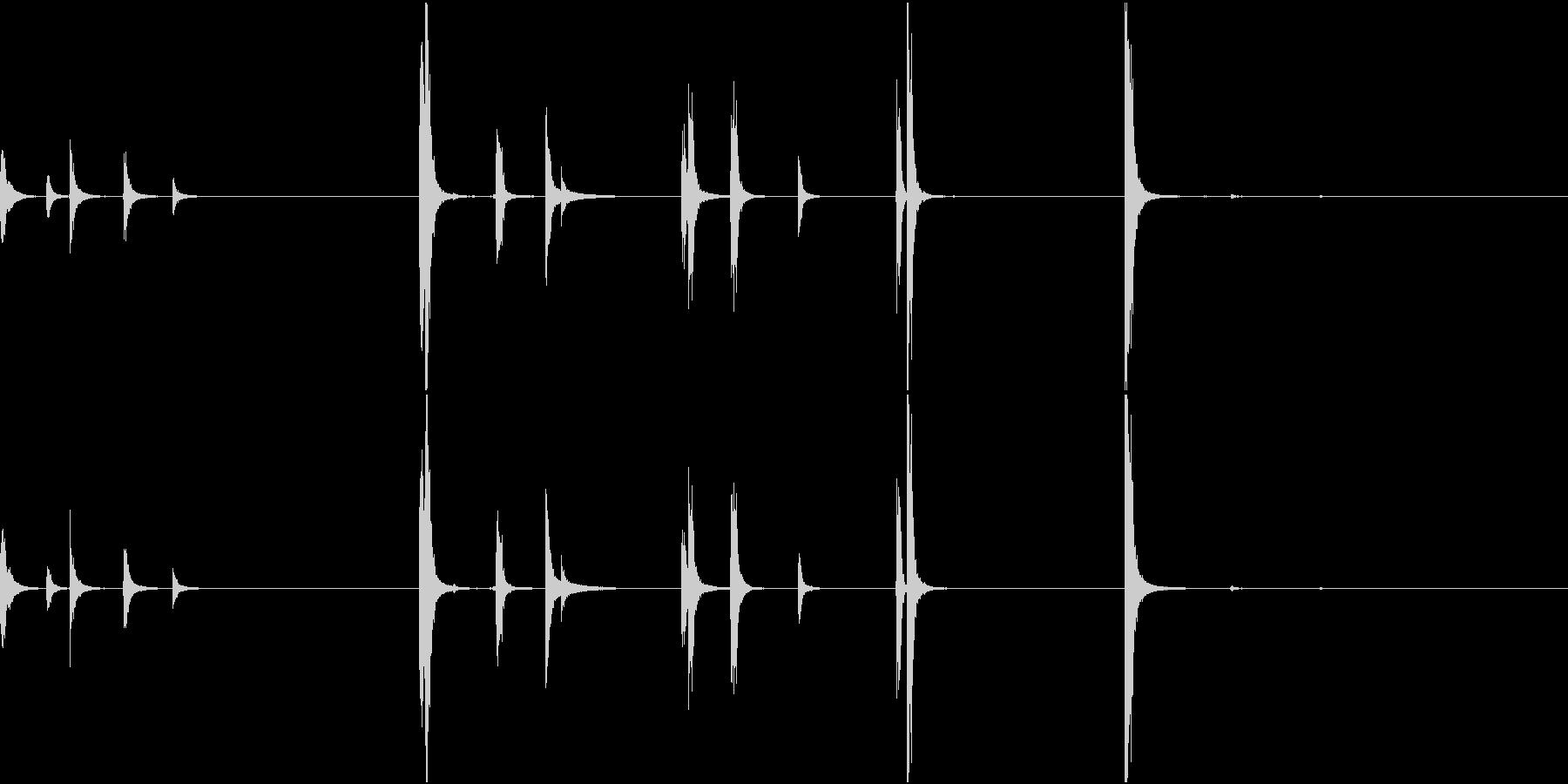 【生録音】手錠の音 1 外そうとするの未再生の波形