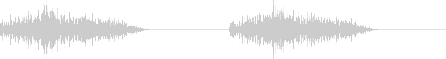 アラート音 LOOP有り 危険度低の未再生の波形