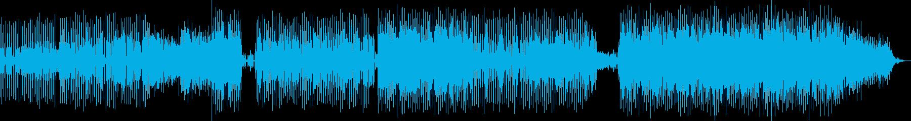 電子機器パルスバウンシーグルーブ。...の再生済みの波形