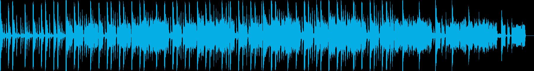 エレクトリックなジングル向け曲の再生済みの波形