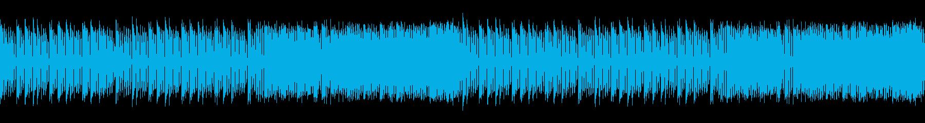 火花が散る発電所/工場を描いたエレクトロの再生済みの波形