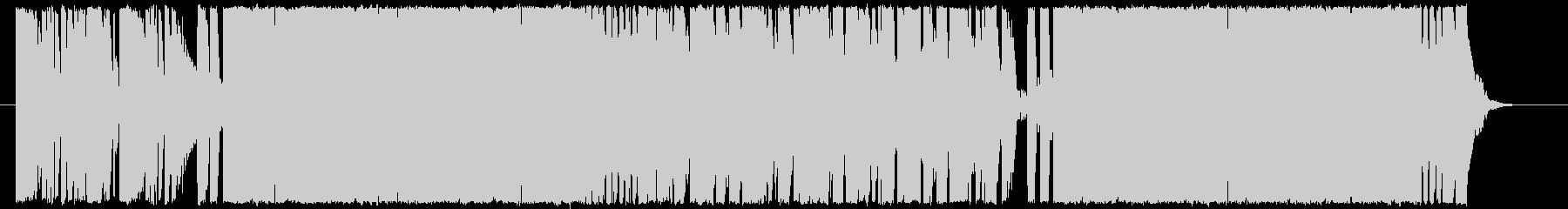 EDM・トレンド感のあるダンスチューンの未再生の波形