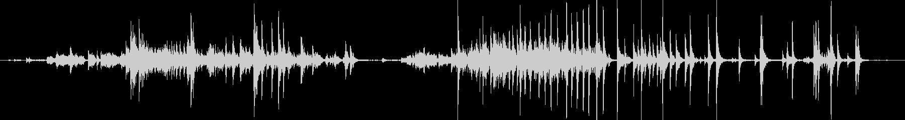 メタル クリークストレスミディアム02の未再生の波形