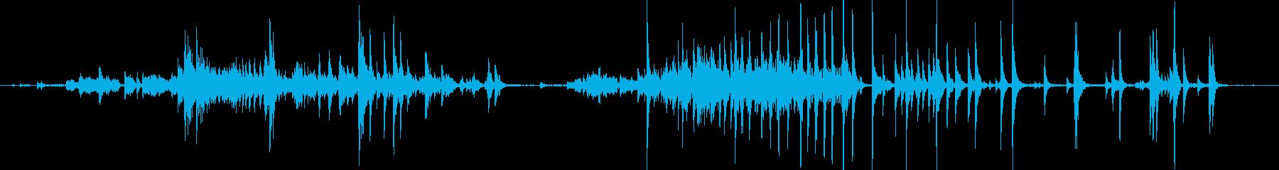 メタル クリークストレスミディアム02の再生済みの波形