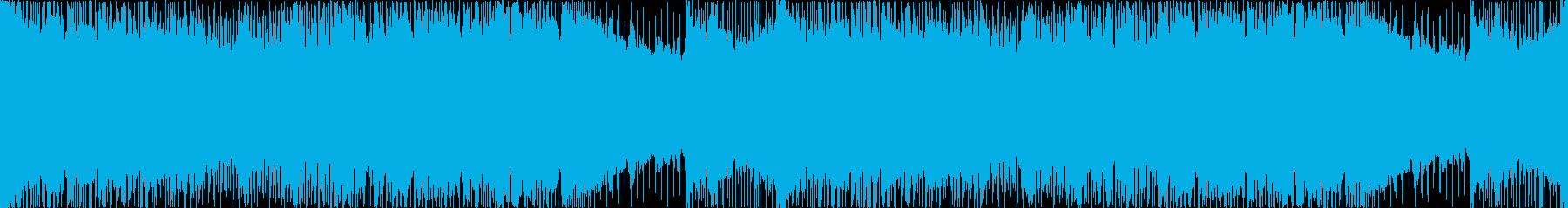 メタルギターリフ 重厚 激しい【ループ】の再生済みの波形