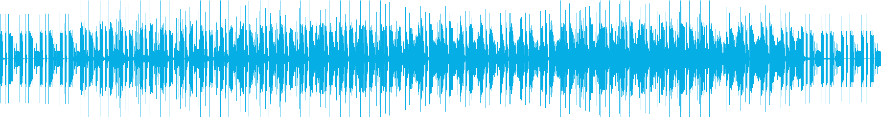 クール、綺麗で大人しいループインストの再生済みの波形
