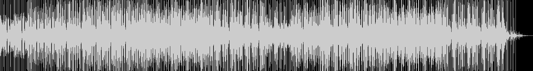 コミカルでほのぼのしたイメージのBGMの未再生の波形