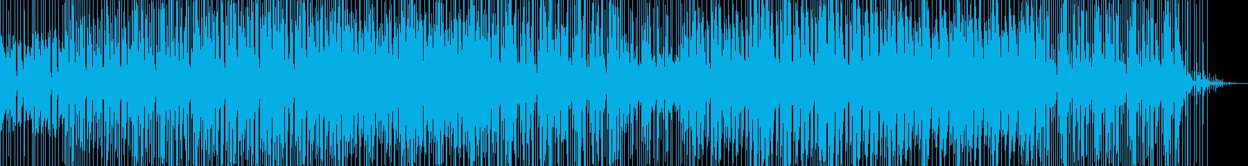 コミカルでほのぼのしたイメージのBGMの再生済みの波形