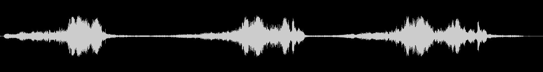ラリークロス-レースの未再生の波形