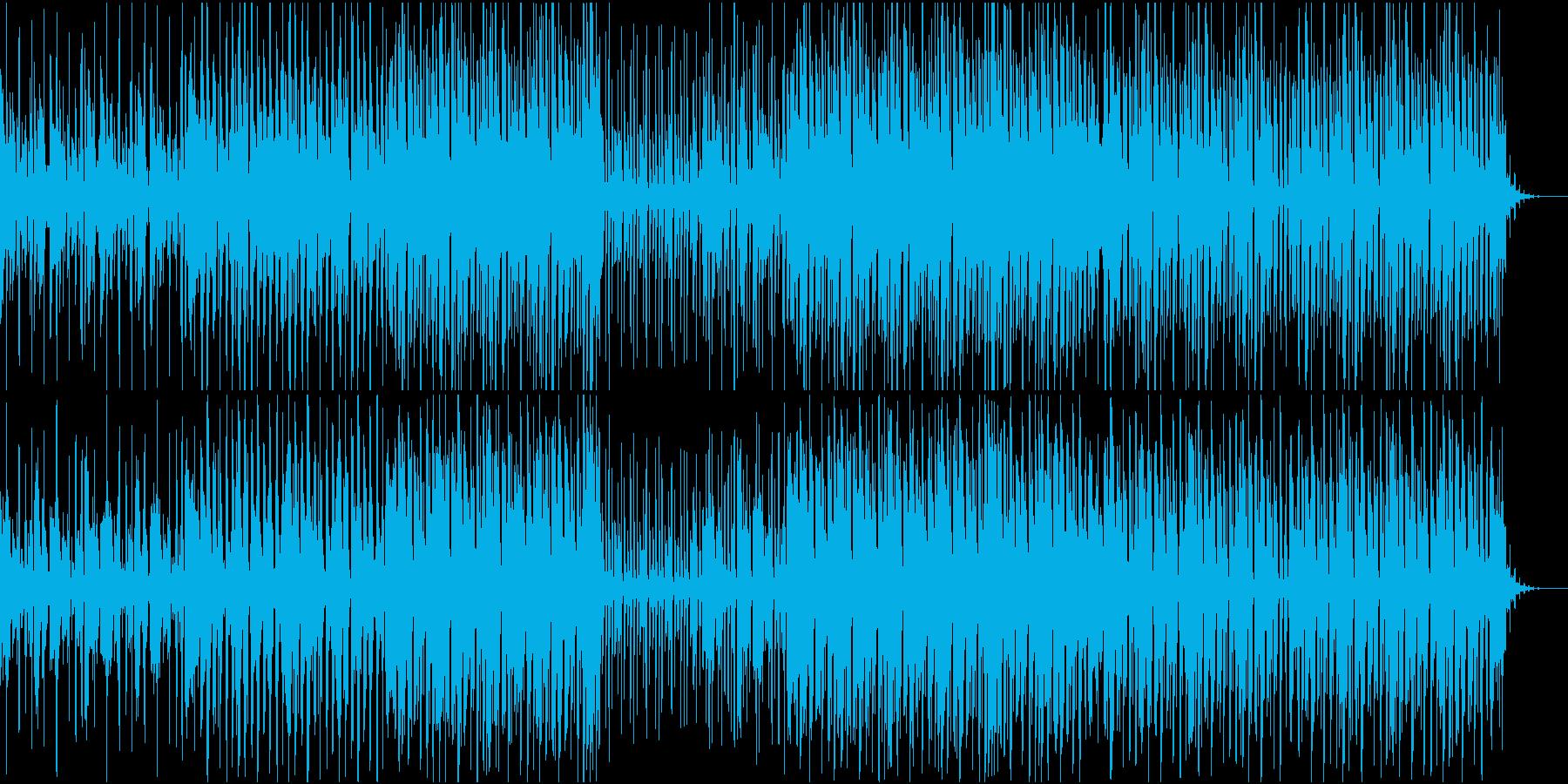 チルハウス系の癒されるBGMです。の再生済みの波形