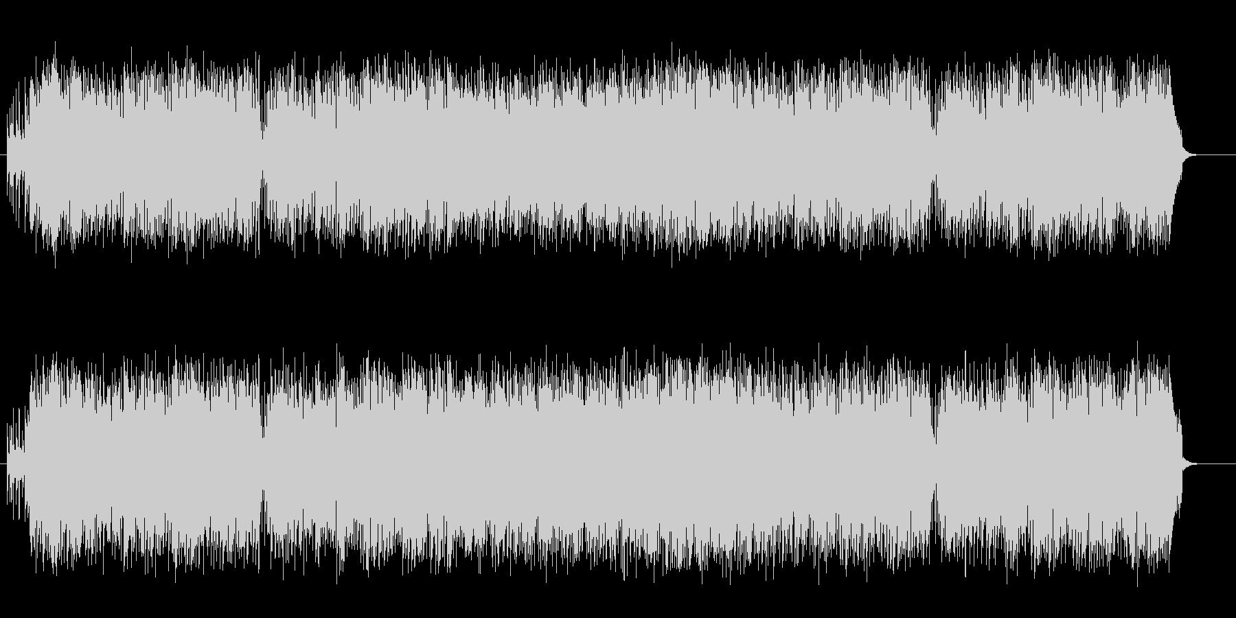懐かしのGSサウンド風マイナー歌謡の未再生の波形
