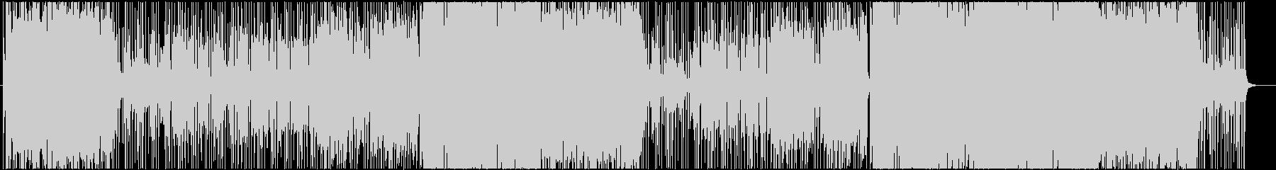 フローズン・ウィンターの未再生の波形