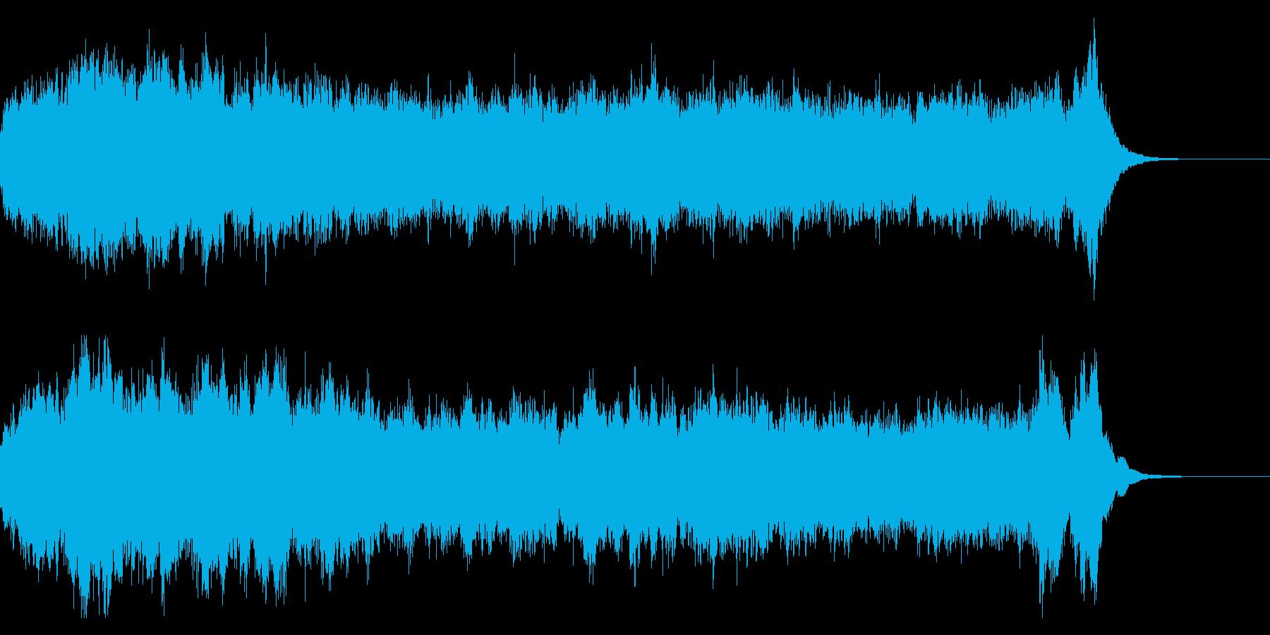ブラームス 交響曲一番 冒頭のみの再生済みの波形