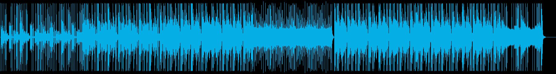 緊迫、バイオレンス、ヒップホップ①の再生済みの波形