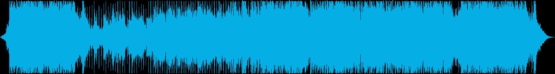 ストリングスが爽やかJポップ風インスト曲の再生済みの波形