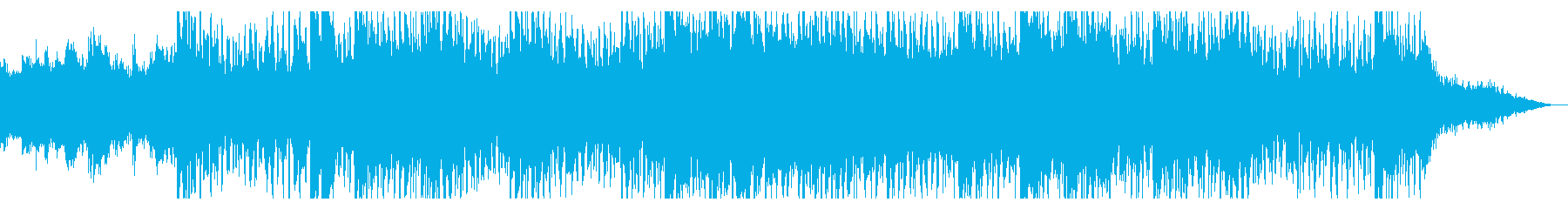 デジタル空間のテクスチャの再生済みの波形