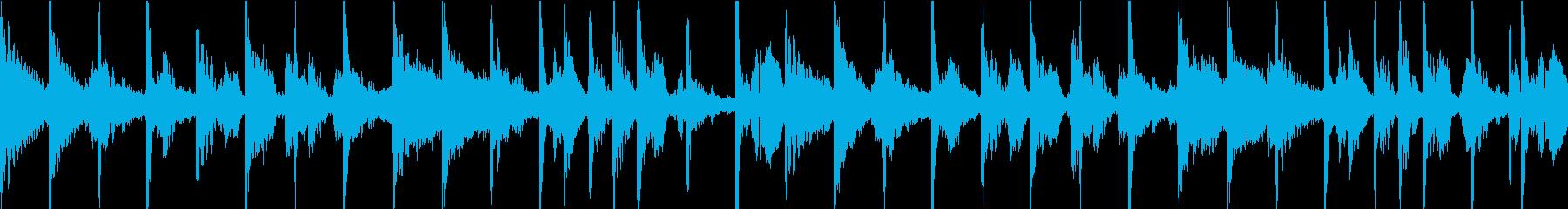 シルキーで滑らかで暖かいチルアウト...の再生済みの波形
