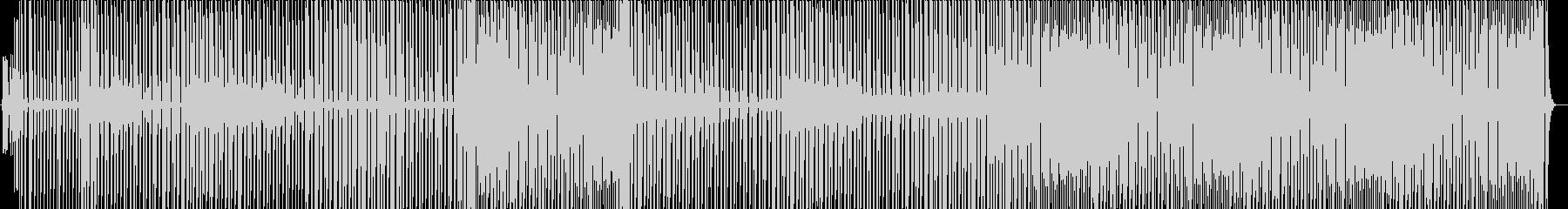 とにかく明るいレゲエリズムの未再生の波形
