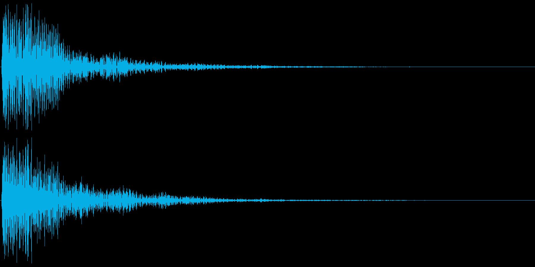 木琴(決定音、ゲーム、アプリに)の再生済みの波形