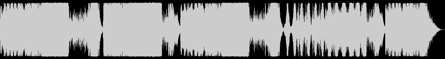 ピアノが幻想的なRPG風曲の未再生の波形