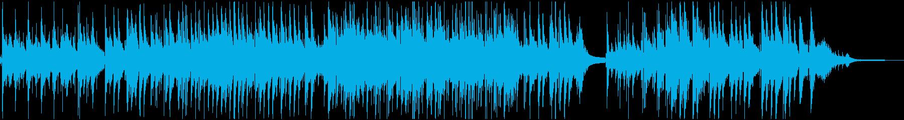 童謡『故郷』のジャズ・アレンジの再生済みの波形