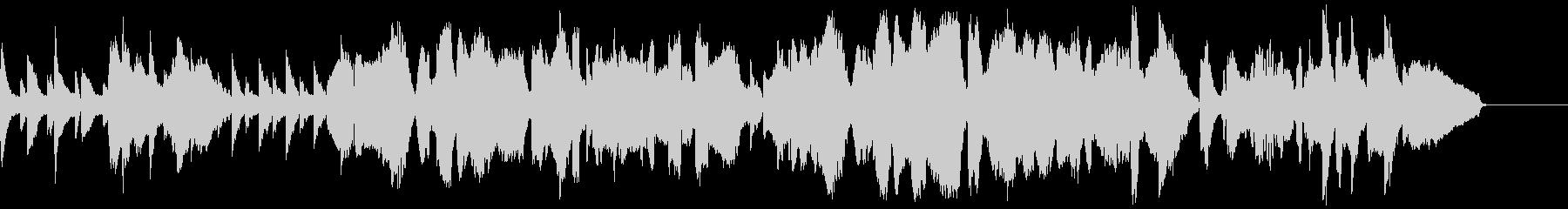 ピアノとチェロとソプラノサックスの曲の未再生の波形