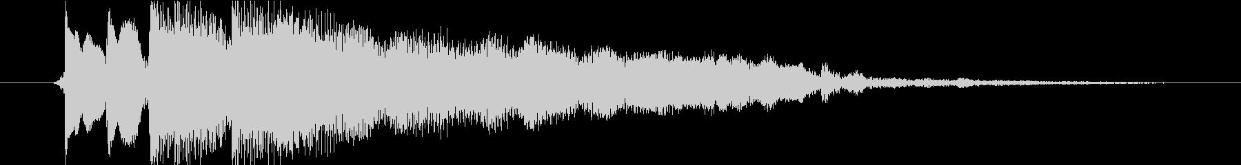 クラシックな楽器をフィーチャーした...の未再生の波形