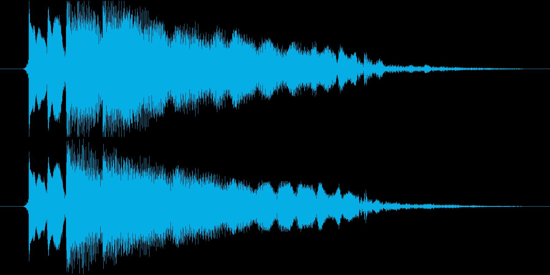 クラシックな楽器をフィーチャーした...の再生済みの波形
