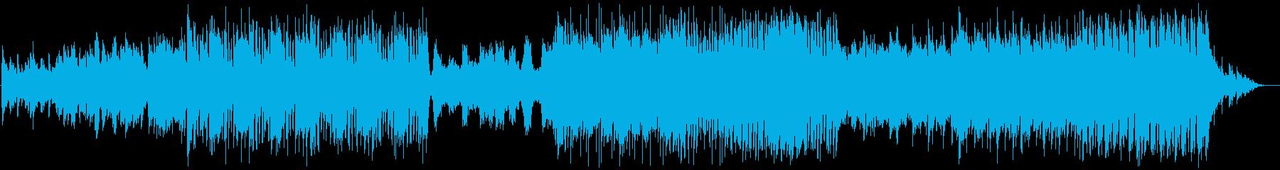 ファンタジックに盛り上がるカーニバル曲の再生済みの波形