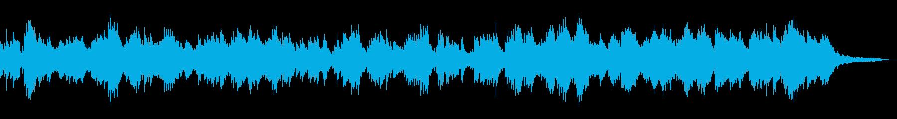 爽やかな風のようなピアノソロ_60秒広告の再生済みの波形