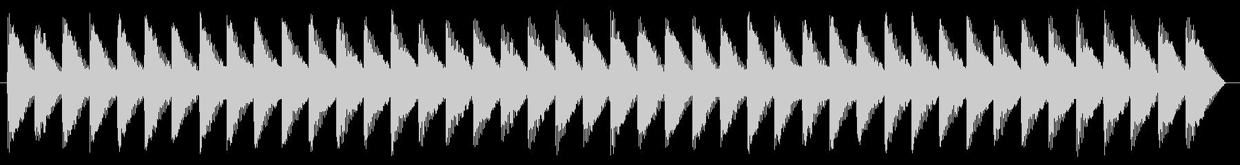 踏切 警報音01-1の未再生の波形