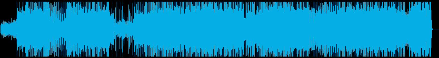 ピアノ変拍子ロック!の再生済みの波形
