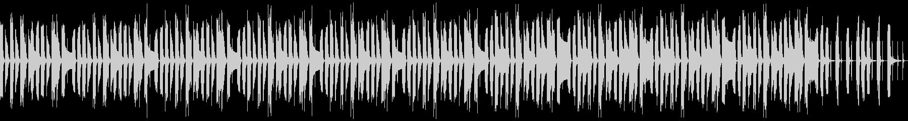 マリンバの可愛くて愉快な曲(ループ)の未再生の波形