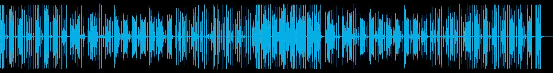 ほのぼのリコーダー、パーカス木琴抜きの再生済みの波形