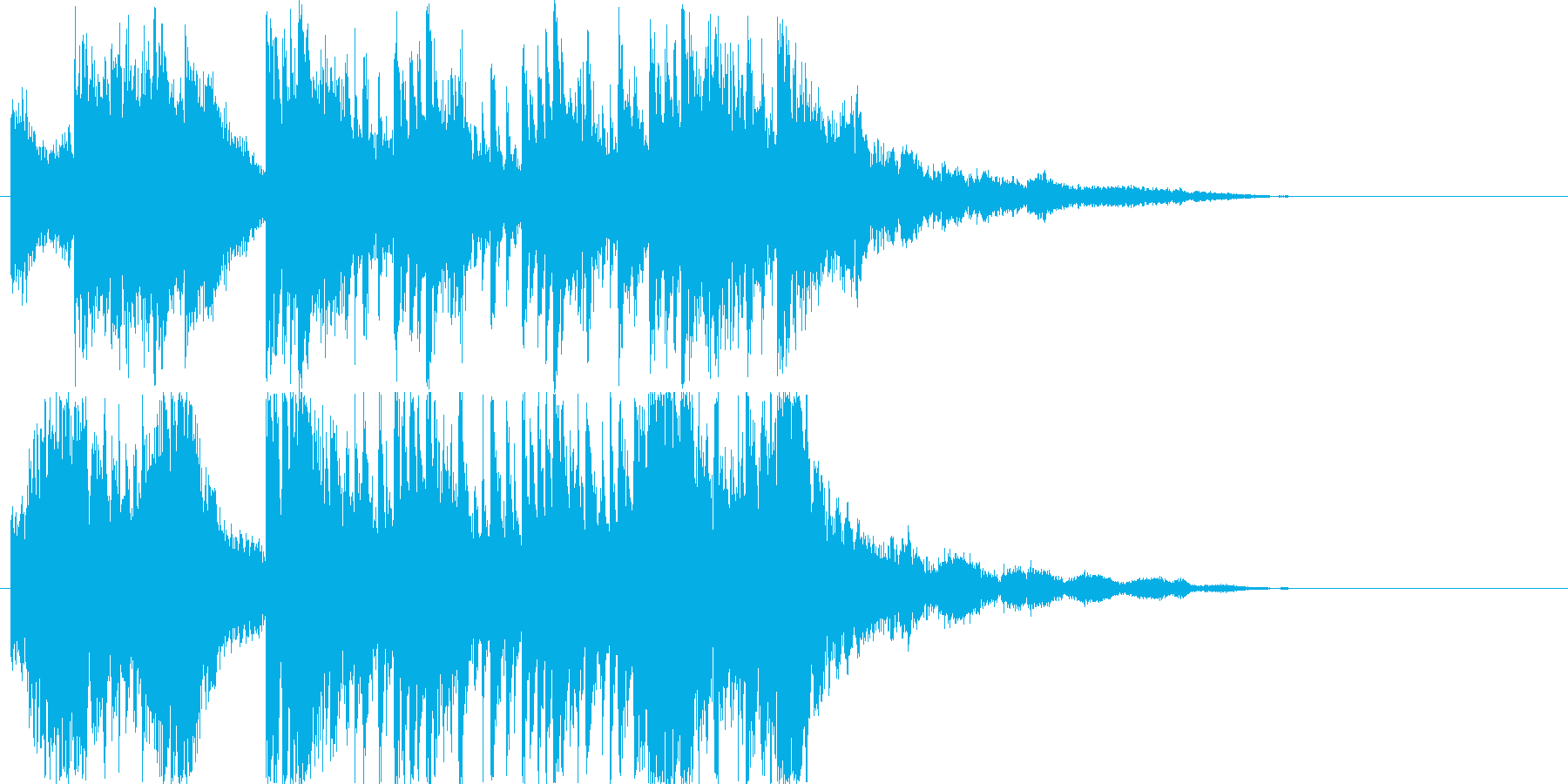 ゲームやダンスなどに使用出来る曲です。…の再生済みの波形