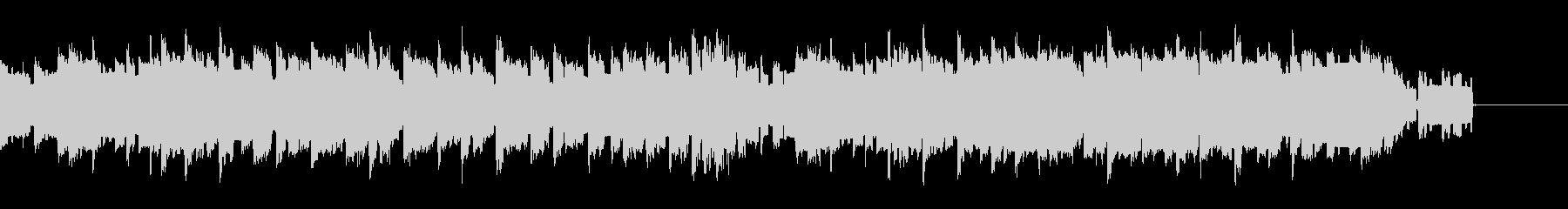 ファミコン風BGMの未再生の波形